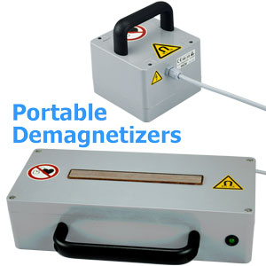 Portable Demagnetizing Devices HE-10 HE-20