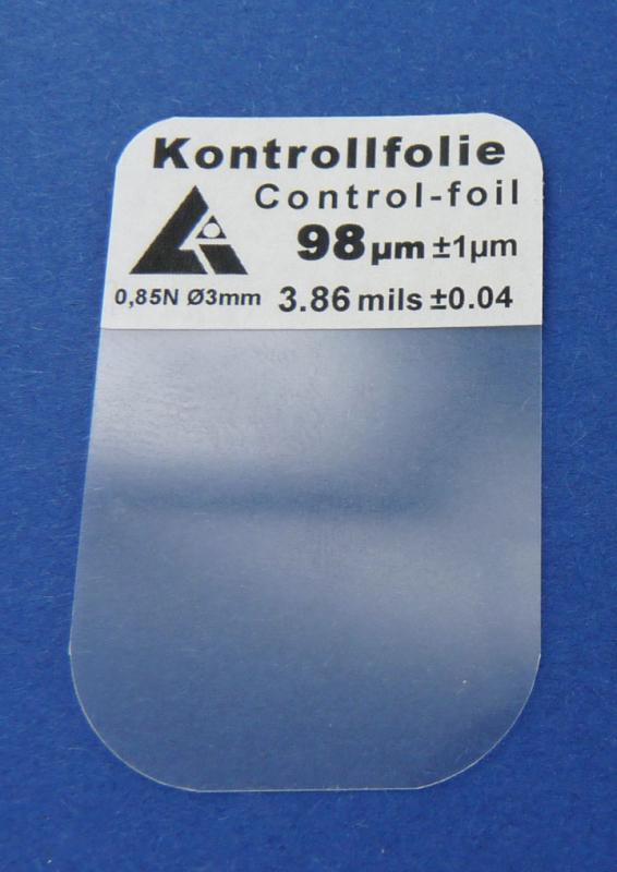 Calibration foil 100 µm