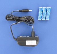 Charger MEGA-CHECK/MP-2000 + 3 rechargeable batteries