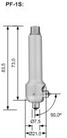 Magnetinduktive Messsonde PF-1S